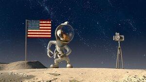 кадры и фото из фильма Белка и Стрелка. Лунные приключения