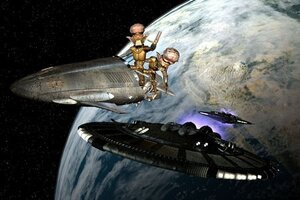 кадры и фото из фильма Приключения инопланетян 3D