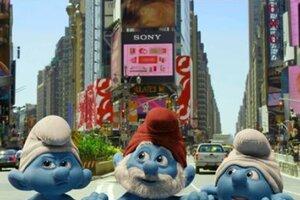 кадры и фото из фильма Смурфики 3D