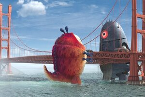 кадры и фото из фильма Монстры против пришельцев 3D