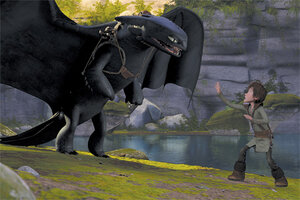 кадры и фото из фильма Как приручить дракона 3D