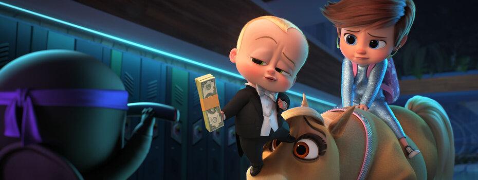 Премьера трейлера анимационного фильма «Босс-молокосос 2»