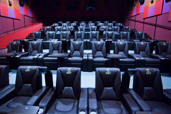 фотография кинотеатра Люксор в ТРК «Континент» ─