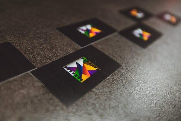 фотография киноклуба Антикинотеатр Black room ─ Визитки с логотипом