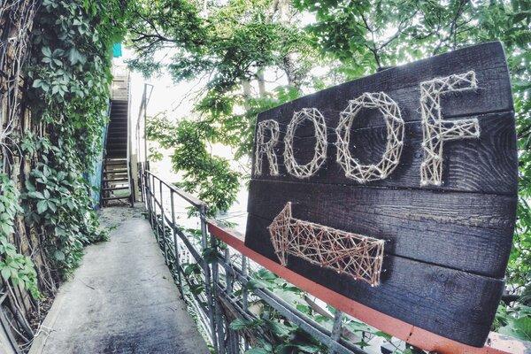фотография киноклуба Кино-крыша City Cinema Roof (кинотеатр закрыт) ─ Вход