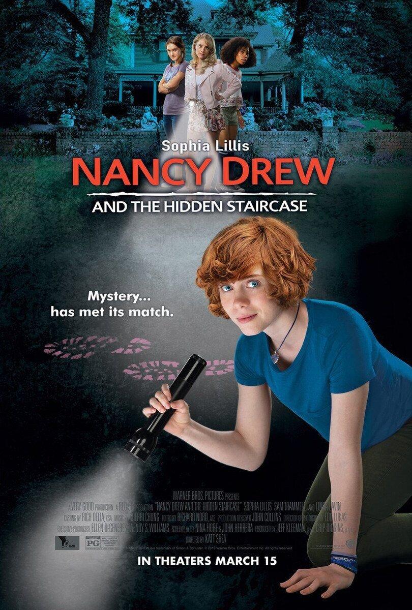 Нэнси Дрю и потайная лестница