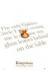 Постер к фильму «Kingsman: Золотое кольцо»
