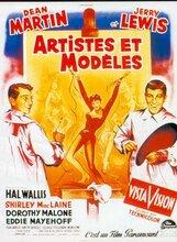 Постер к фильму «Художники и модели»