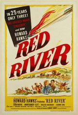 Постер к фильму «Красная река»