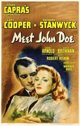 Постер к фильму «Познакомьтесь с Джоном Доу»