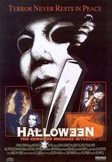 Постер к фильму «Хэллоуин 6: Проклятие Майкла Майерса»