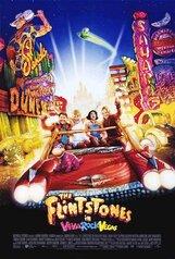 Постер к фильму «Флинтстоуны в Вива Рок-Вегасе»