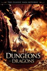 Постер к фильму «Подземелье драконов: Книга заклинаний (ТВ)»