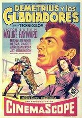 Постер к фильму «Деметрий и гладиаторы»