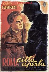Постер к фильму «Рим – открытый город»