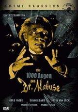 Постер к фильму «1000 глаз доктора Мабузе»