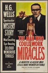 Постер к фильму «Человек, который умел творить чудеса»