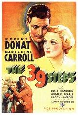 Постер к фильму «39 ступеней»