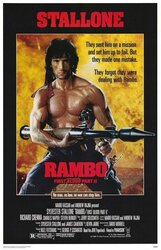 Постер к фильму «Рэмбо 2»