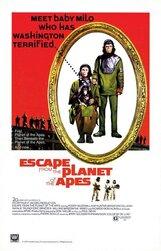 Постер к фильму «Бегство с планеты обезьян»