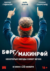 Постер к фильму «Борг/Макинрой»