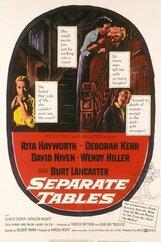 Постер к фильму «За отдельными столиками»