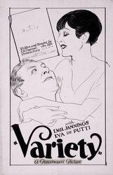 Постер к фильму «Варьете»