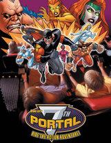 Постер к фильму «Седьмой портал: Битва супергероев 4D»