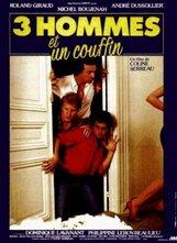 Постер к фильму «Трое мужчин и младенец в люльке»