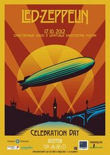 Постер к фильму «Led Zeppelin Celebration Day»