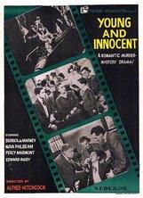 Постер к фильму «Молодой и невинный»