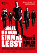 Постер к фильму «Живешь только однажды - Группа Die Toten Hosen в туре»