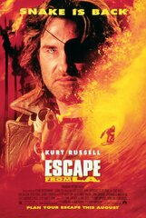 Постер к фильму «Побег из Лос-Анджелеса»