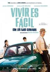 Постер к фильму «Легко живется с закрытыми глазами»