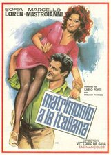 Постер к фильму «Брак по-итальянски»
