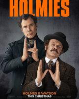 Постер к фильму «Холмс и Ватсон»