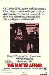 Постер к фильму «Дело Маттеи»
