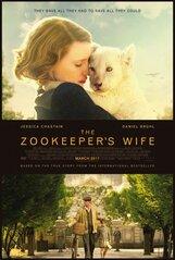 Постер к фильму «Жена смотрителя зоопарка»