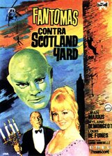 Постер к фильму «Фантомас против Скотланд-Ярда»