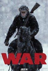 Постер к фильму «Планета обезьян: Война »