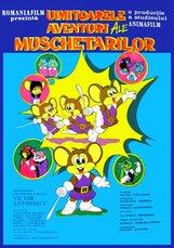 Постер к фильму «Потрясающие приключения мушкетеров»