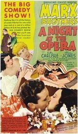 Постер к фильму «Ночь в опере»