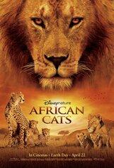 Постер к фильму «Африканские кошки: Королевство смелости»