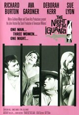 Постер к фильму «Ночь Игуаны»