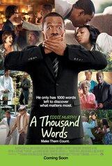 Постер к фильму «Тысяча слов»