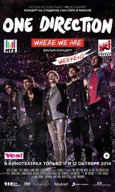 Постер к фильму «One Direction: Где мы сейчас»