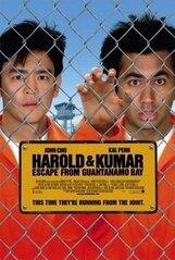 Постер к фильму «Гарольд и Кумар 2: побег из Гуантанамо»
