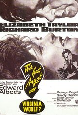 Постер к фильму «Кто боится Вирджинии Вульф?»