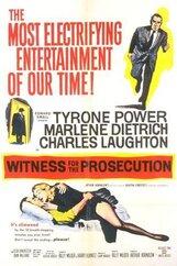 Постер к фильму «Свидетель обвинения»