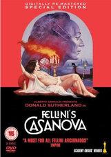 Постер к фильму «Казанова Феллини»